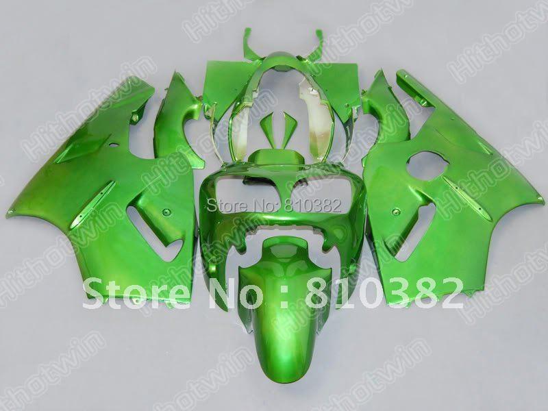 Top Grade Complete Green Fairing Kit for 2000 2001 ZX12R Kawasaki Ninja ZX-12R 00-01 ZX 12R 00 01 2000 2001 Fairings set(China (Mainland))