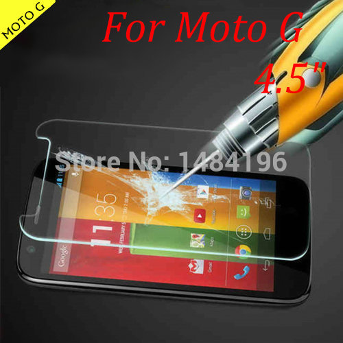 Tempered Glass Film for Motorola Moto G XT1032 Explosion-proof Premium Tempered Glass Screen Protector for Motorola Moto G 4.5""