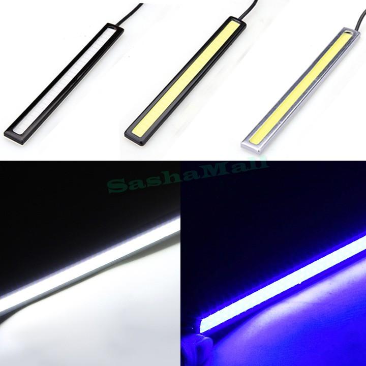 2Pcs 14cm Ultra-Thin Chip New Update LED Daytime Running Light LED DIY DRL Fog Car Lights Car Day Running Lights US50(China (Mainland))