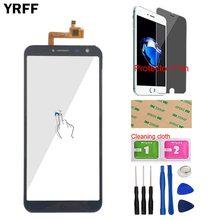 Pantalla táctil para teléfono inteligente Dexp Ixion G155 Dexp G155 pantalla táctil digitalizador Panel móvil pantalla frontal vidrio Sensor Protector película(China)