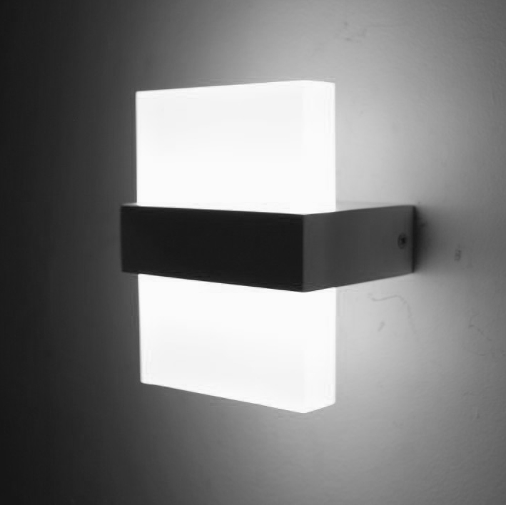 Bedside Wall Lamp With Led : Modern 6W LED Wall Light Bedroom Bedside Lamp Luminaria Led Wall Lights For Home Led Stair Light ...