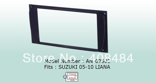Fascias 2DIN Special Car Audio Refitting Panel Frame Dash Kit For SUZUKI LIANA 2004~2011 Retail/Pc Free Shipping