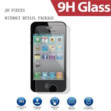 Tomoral(TM) 20 Pieces Premium Tempered Glass Screen Protector for iPhone 4 4S Toughened Protective Film