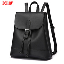Buy New 2017 High Women Backpacks Famous Brand Fashion Lady Leather Backpack School Backpacks Teenage Girls WN 35 for $22.14 in AliExpress store