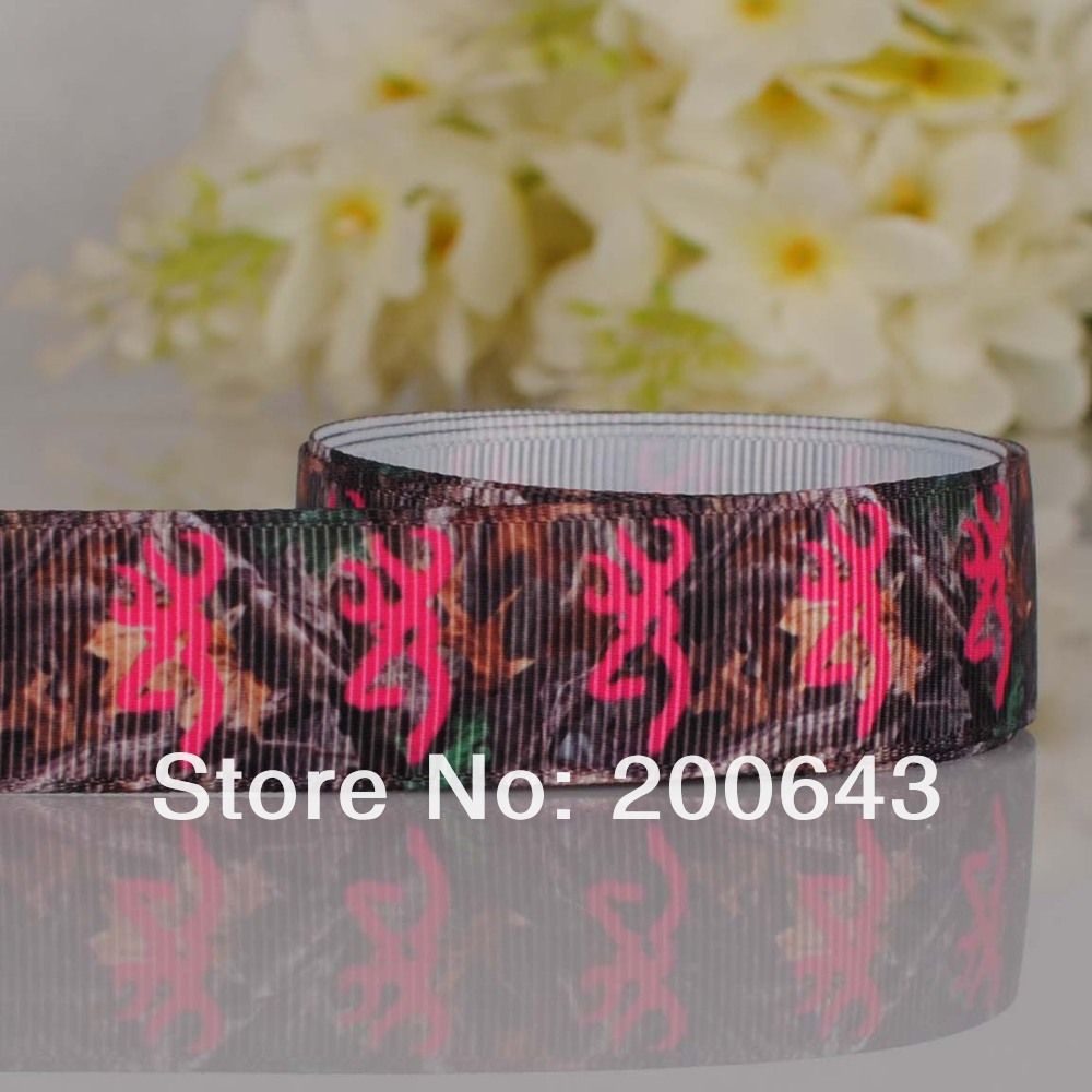 "Free shipping 7/8"" Fashion browning Counrty girl Brand printed Grosgrain ribbon,OEM Country girl gift ribbon 100yards/lot(China (Mainland))"
