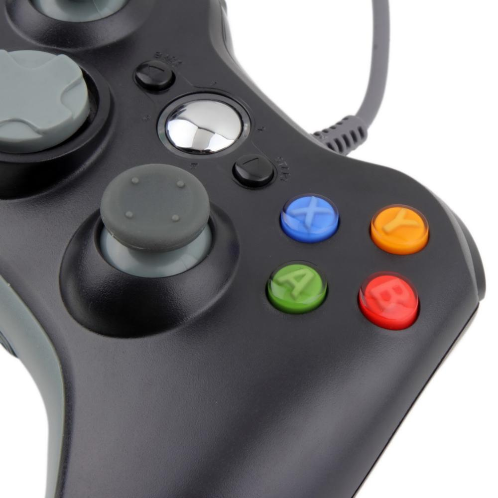 image for 1pc USB Wired Joypad Gamepad Controller For Microsoft For Xbox Slim 36