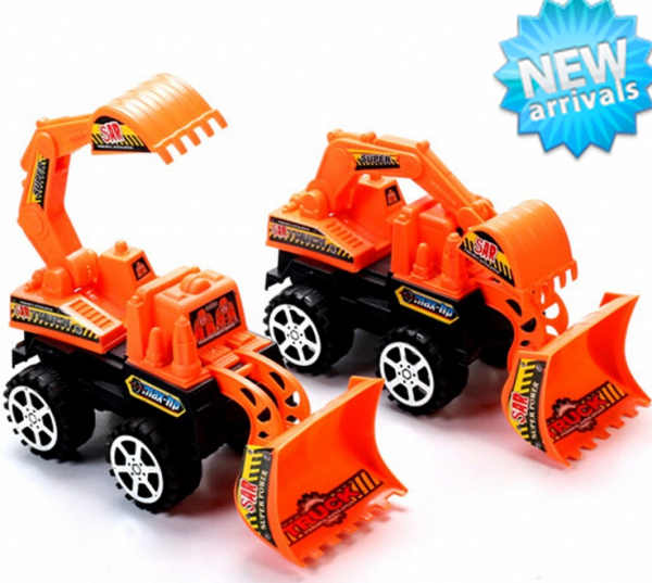 2015 New Truck Models Excavators Brinquedos Mini Toys Construction Trucks For Children Educational Kids Toys 1PC FREE SHIPPING(China (Mainland))