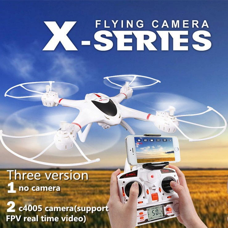 Original MJX X400 2.4G 6 Axis RC Quadcopter Drone Can Add C4005 HD Camera FPV Drone With Camera RC Helicopter