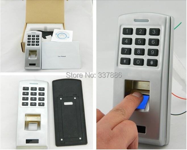 multimedia fingerprint access control with Wiegand 26/34 output<br><br>Aliexpress