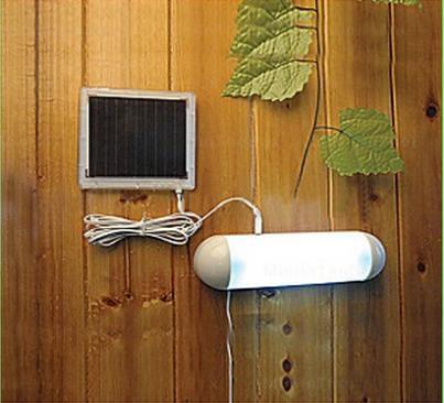 Лампы на солнечных батареях из Китая