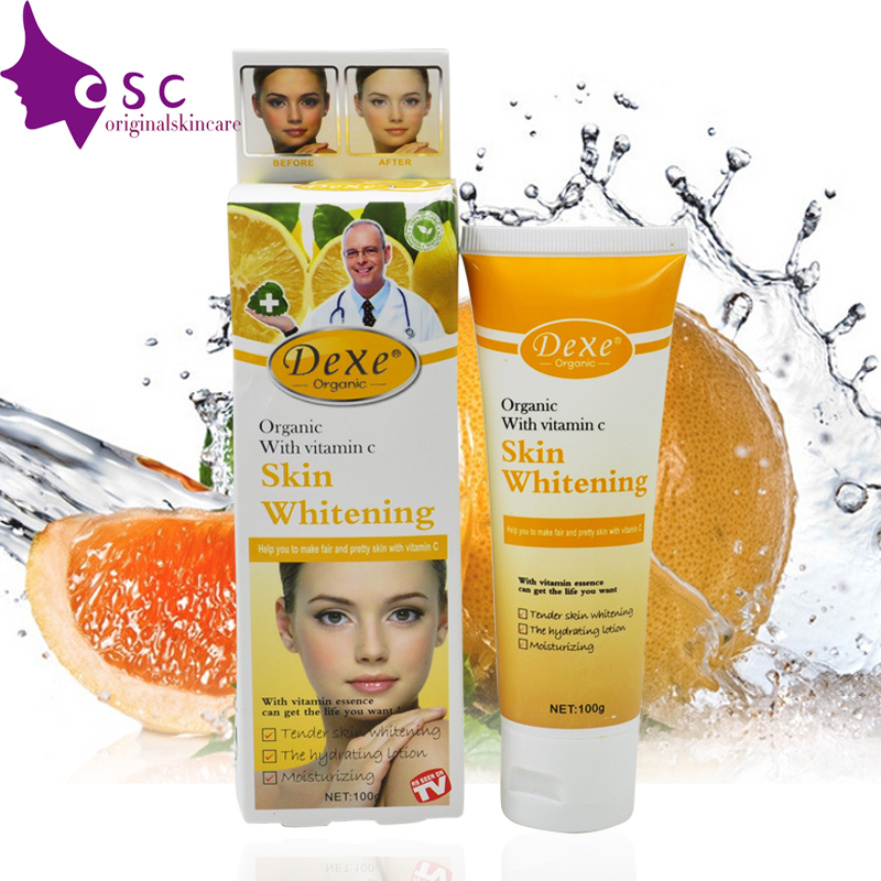 Dexe Skin Lightening &amp; Whitening cream  vitamin C  Effective Safer Bleaching Substitute to Hydroquinone for Even Skin Tone<br><br>Aliexpress