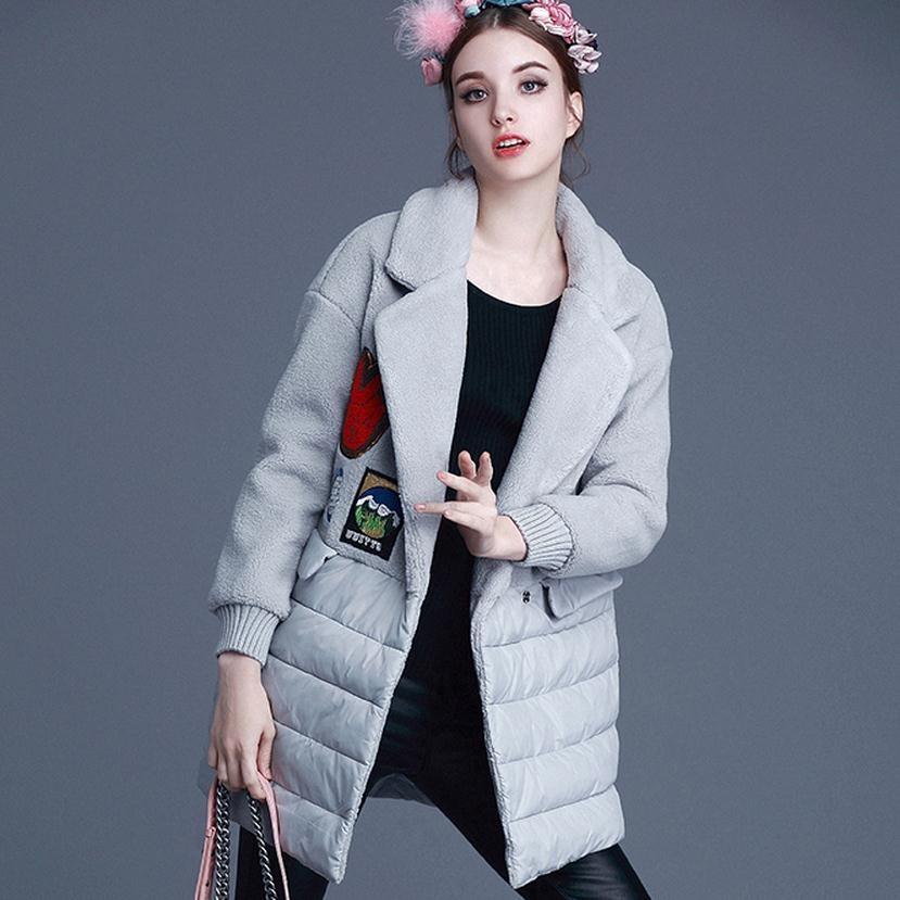 Пиджак Женская Мода Зима 2017