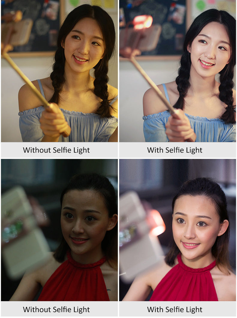 image for ADDS Bluetooth Selfie Stick With 360 Degree Led Fill Light And Rear Mi