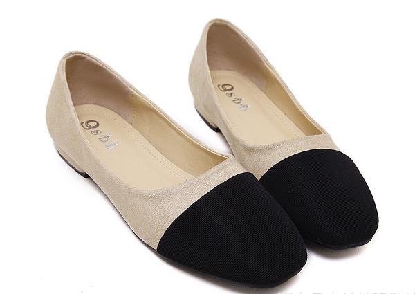 ซื้อ ผู้หญิงสบายๆแบนรองเท้าฤดูร้อนฤดูใบไม้ผลิฤดูใบไม้ร่วงสบายNubuck PUฝูงหนังผสมสีขนาดใหญ่35-44