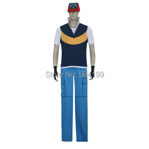 Ash Ketchum Costume Adults Ash Ketchum Costume in The