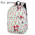 Unisex Leisure Print Girls Floral Backpacks Printing Bags Backpack Jan 3