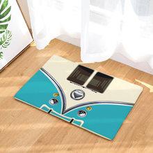 Nueva estera de piso de franela Retro Cámara cinta magnética alfombras de bienvenida para puerta delantera sala de estar puerta alfombra de cocina alfombra decoración de casa(China)
