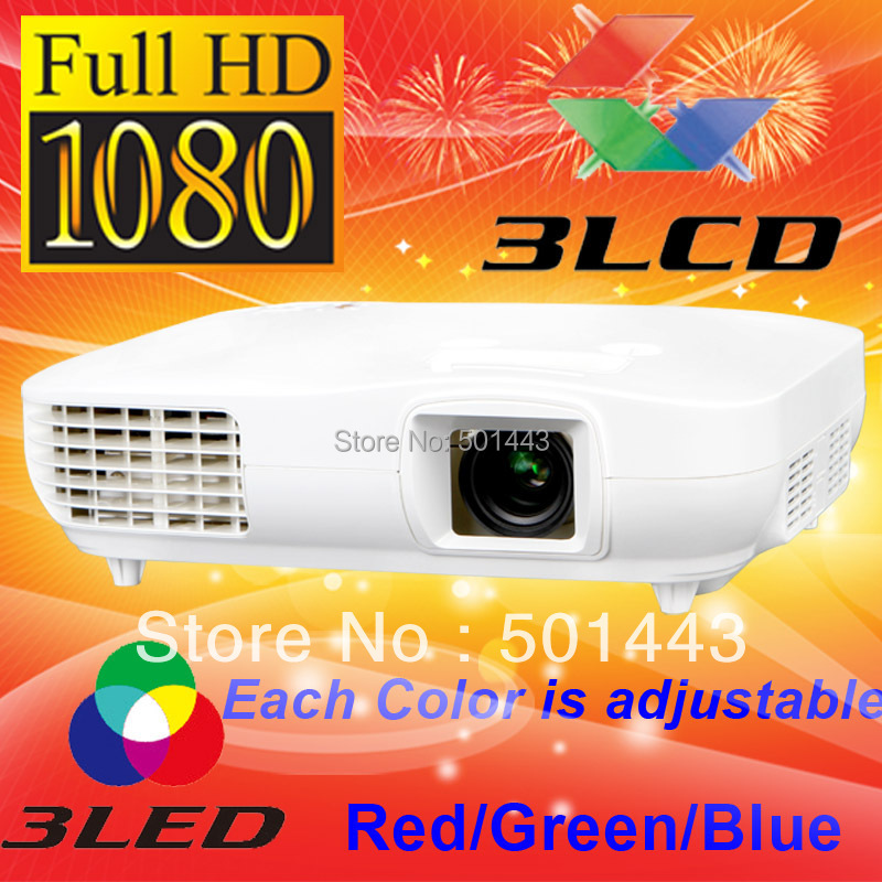 3000lms HDMI DVI Digital 3LCD Full HD LED Video 1080p Projector 1920x1080 - China Best Brand CRE store