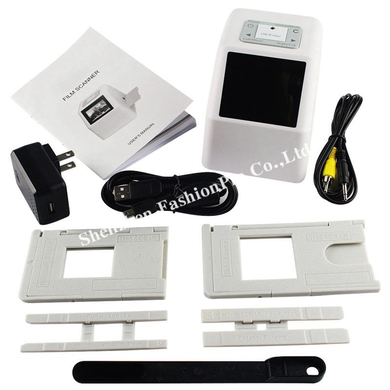 portable 35mm film scanner digital film converter with 22 mega pixels 110 135 126kpk super 8. Black Bedroom Furniture Sets. Home Design Ideas