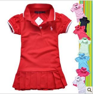 girls dress new designer cotton 2015 summer flower child clothing baby dress princess dress summer(China (Mainland))