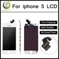 10pcs lot 100 AAA No Dead Pixel for IPhone 5 LCD Display Touch Screen Digitizer Assembly