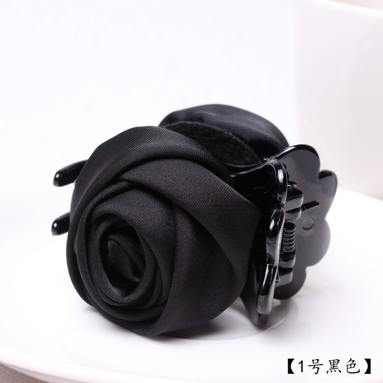 2016 Korean version of high-end fashion hair accessories for women rose crab claw clip Female hair accessories hairpin gift