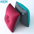 Cool Inflatable Car Seat Cushion TPU Fabrics Car Seat Support Cushion Lumbar Waist Back Pillow for