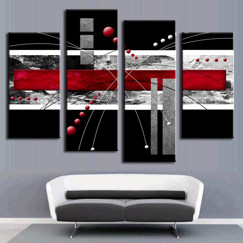 Wall Decor Red : Terrific red wall art images inspirations dievoon