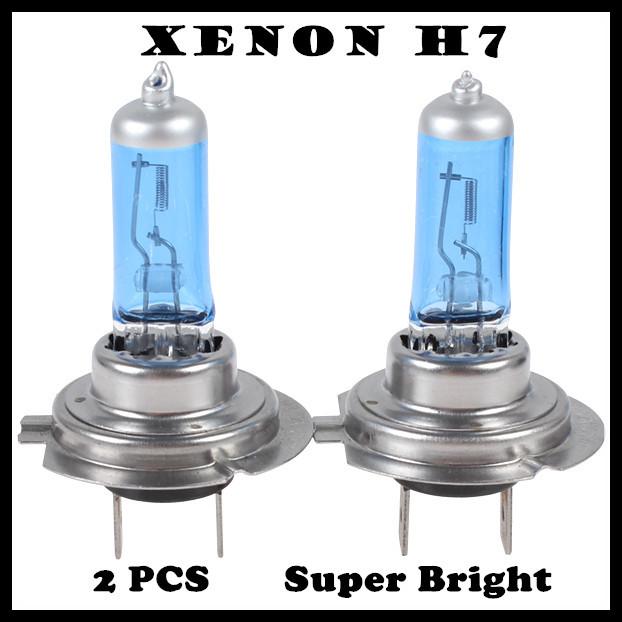 Галогенные лампы 1pairs H7