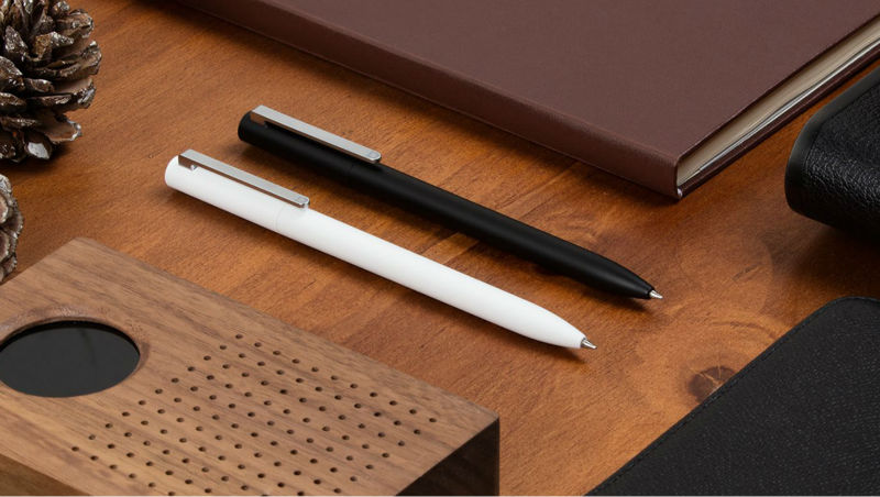 100% Original Xiaomi Mijia Sign Pen 9.5mm Signing Pen PREMEC Switzerland Refill MiKuni Japan Ink Black Refills