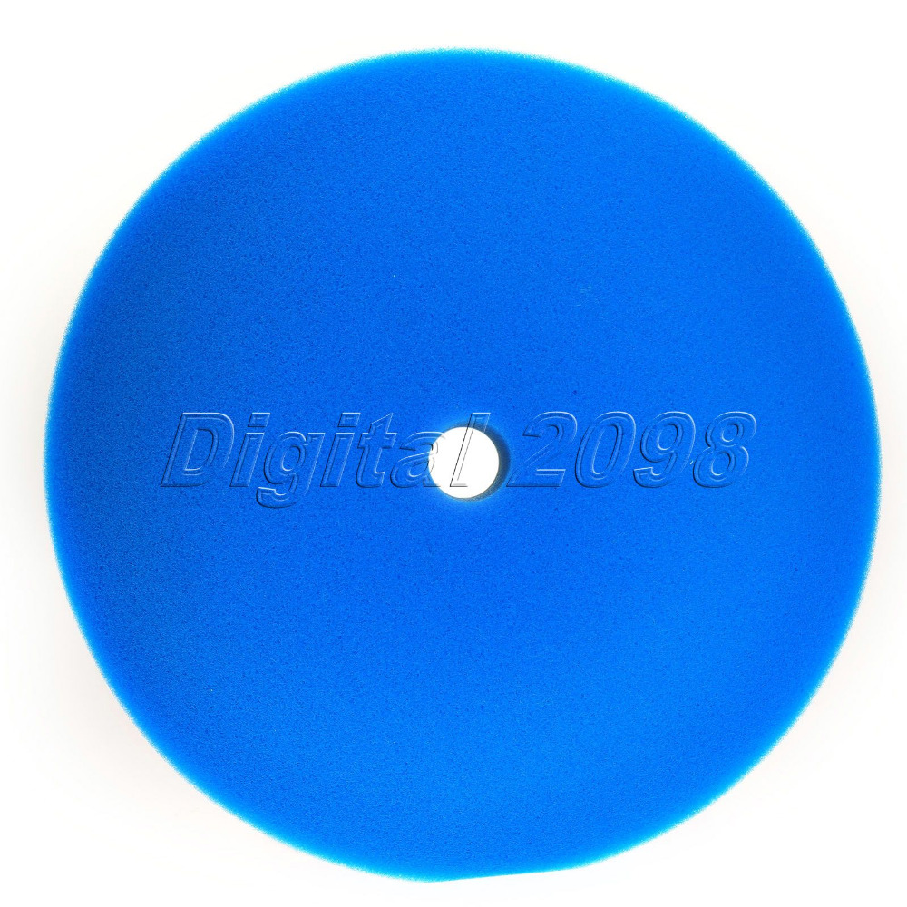 "1Pc 7"" Concave Car Polishing Buffing Pad Blue Car Polisher Sponge Foam Buffer Pad Car Wash Waxing Discotic Auto Cleaning Tools(China (Mainland))"