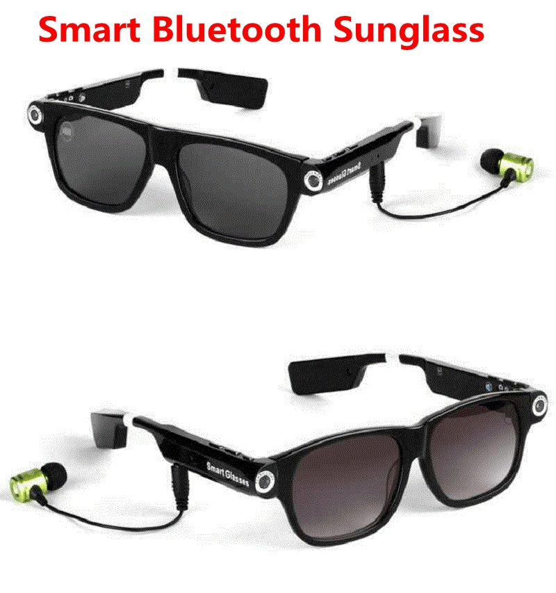 New Fashion Men Women V3 Smart Sunglasses Wireless Bluetooth Wearable Smart Glas