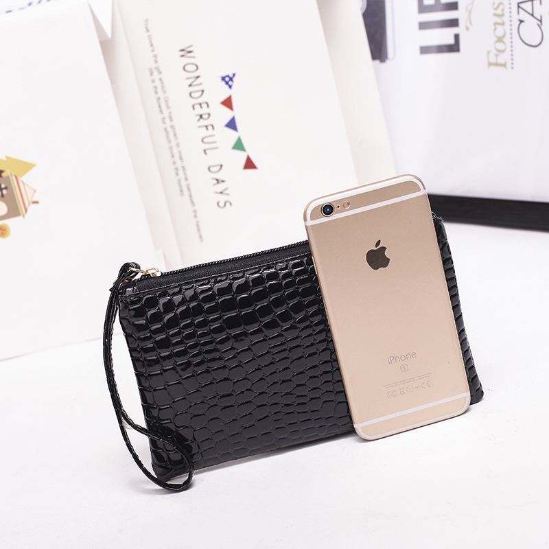 Fashion Design Pouch Case for iPhone 7 7Plus 6 6S Plus for Samsung S6 Edge S7 Pouch Crocodile PU Leather Mobile Phone Bags Cases(China (Mainland))