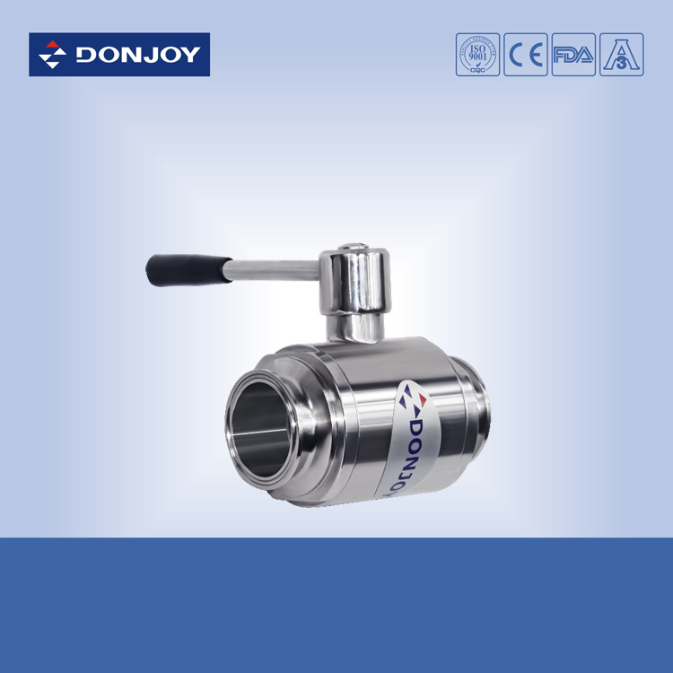 1.5 inch SS304 Stainlesss steel ball valve, Sanitary 2-way valve - Donjoy Online Store store
