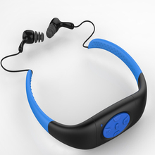 IPX8 Waterproof Sports MP3 Music Player Underwater Neckband Swimming Diving with FM Radio Earphone Stereo Audio Headphone(China (Mainland))