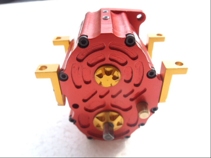 1/14 Tamiya tractors in second gear metal gearbox(China (Mainland))
