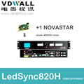 freeship VDWALL LedSync820H with 1pc NOVASTAR msd300 VIDEO PROCESSOR scaler for LED RGB full color led
