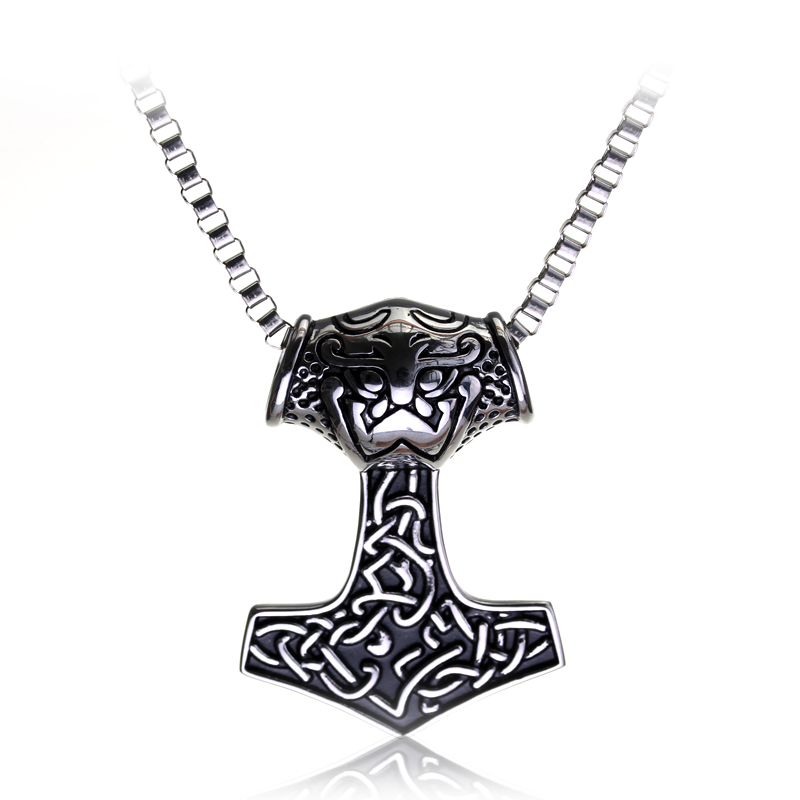 series viking pendant necklace norse odin thor s