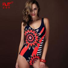 Brand Sexy Women One Pieces Swimwear Hot Sell print monokini plus size Swimsuit Strapless Bathing Suit Halter Swimwear Bodysuit
