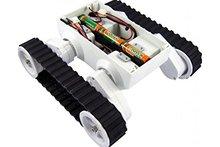 Rc Smart Track Chassis Robot Tank Kit 2wd Motor Tanks Contest Platform Arduino DIY #RBP018 - laboratory store
