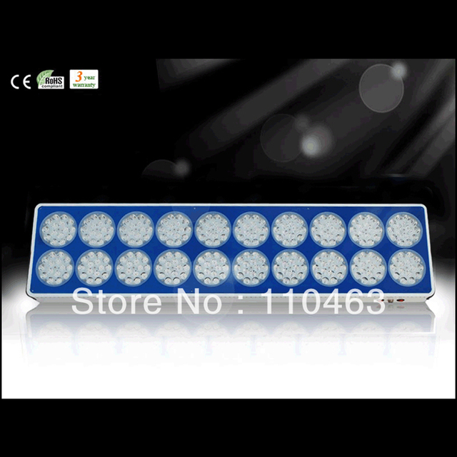 670W~725W 300pcsx 3w led apollo grow light 40000lux/1m 24400/1.5m lux 12000LM led greenhouse lighting plant lamp free shipping