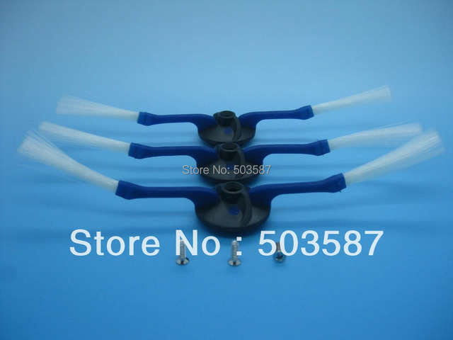 Free shipping! Top quality 3 pcs 2 arms Replacement sidebrush for iRobot Roomba 400 series vacuum cleaner Discorvery, Dirt dogs.