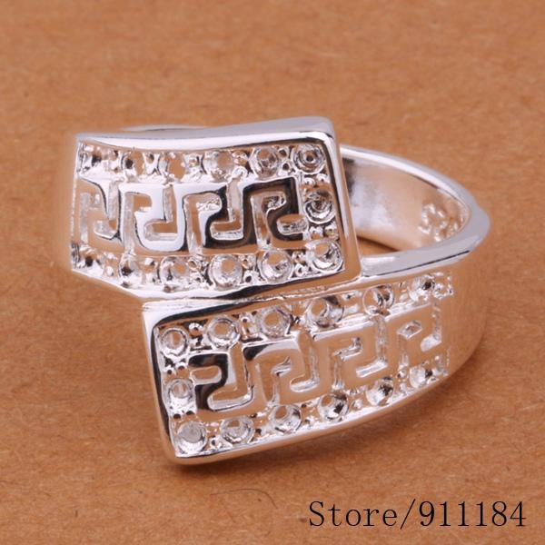 R203 silver plated ring, fashion jewelry, ring /almajcta bxsakoza - Fancy True Love Jewelry Trade Co.,Ltd store