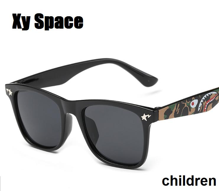 2016 new Retail Fashion Children Cool Sun Glasses Parent child sunglasses Boys Girls Kids Plastic Frame