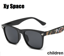 2016 new Retail Fashion Children Cool Sun Glasses Parent child sunglasses Boys Girls Kids Plastic Frame