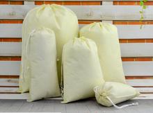 Shoes Bag Travel Storage Pouch Drawstring Dust Non-woven Portable 30pcs/lot