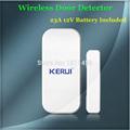 New 433mhz Wireless Door window Sensor For GSM PSTN Home Alarm System Home Security Voice Burglar