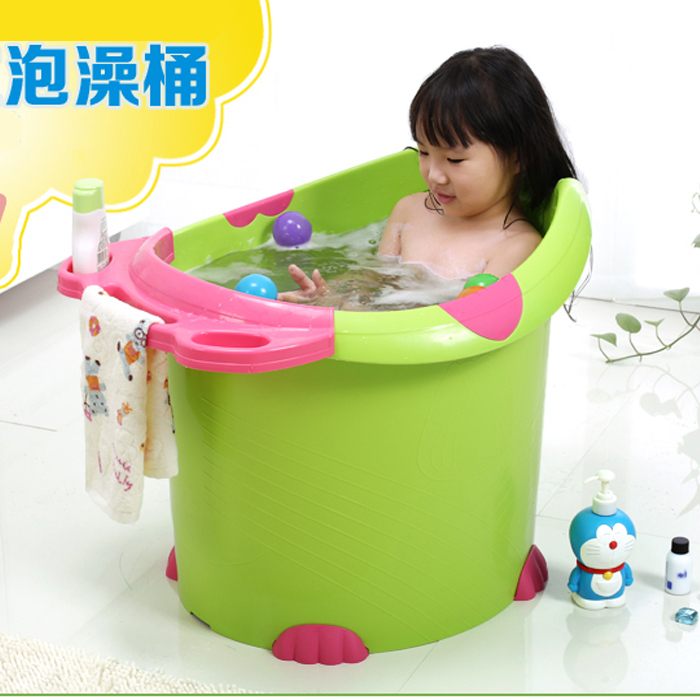simple plastic pot child take a bath bucket bath bucket oversized baby bath tub children 39 s. Black Bedroom Furniture Sets. Home Design Ideas