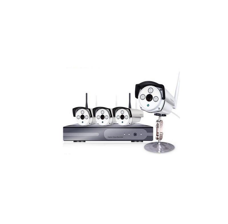 4PCS HD 960P IP Camera 4CH DVR Out Door Wireless Security Camera System IR Night Vision Surveillance Video Recorder Kit K145b<br><br>Aliexpress
