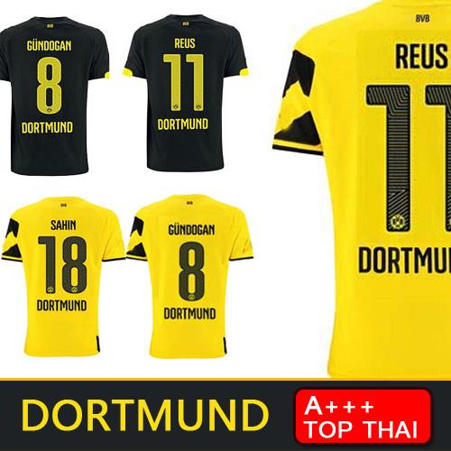 Top Thai REUS Germany FC Borussia Dortmund soccer jersey 2015 Gundogan Borussia Dortmund jersey 14 15 BVB football shirt men(China (Mainland))